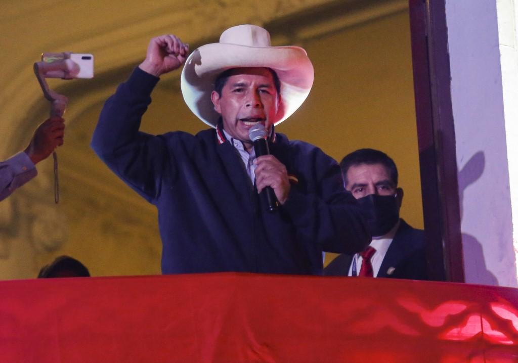 Pedro Castillo mantiene liderazgo en segunda vuelta por la Presidencia de Perú