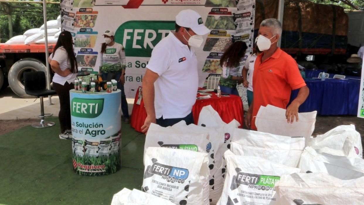 Pequiven promueve primera Expo Venta de Fertilizantes en Anzoátegui