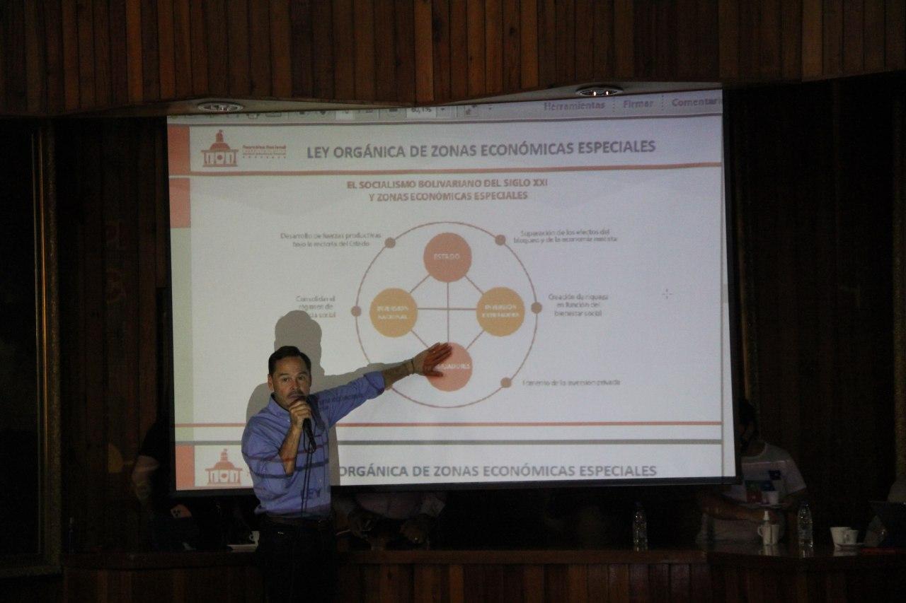 Amplían consulta pública en Aragua del proyecto de Ley Orgánica de Zonas Económicas Especiales