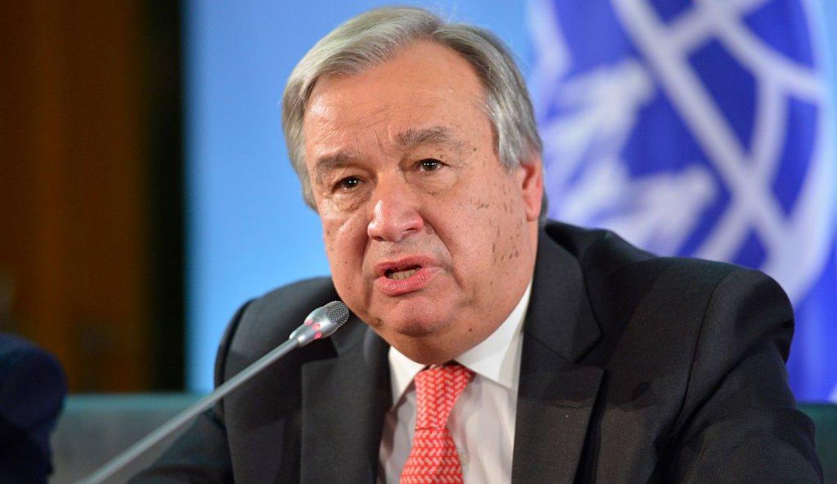 Guterres es nombrado secretario general de ONU para segundo mandato