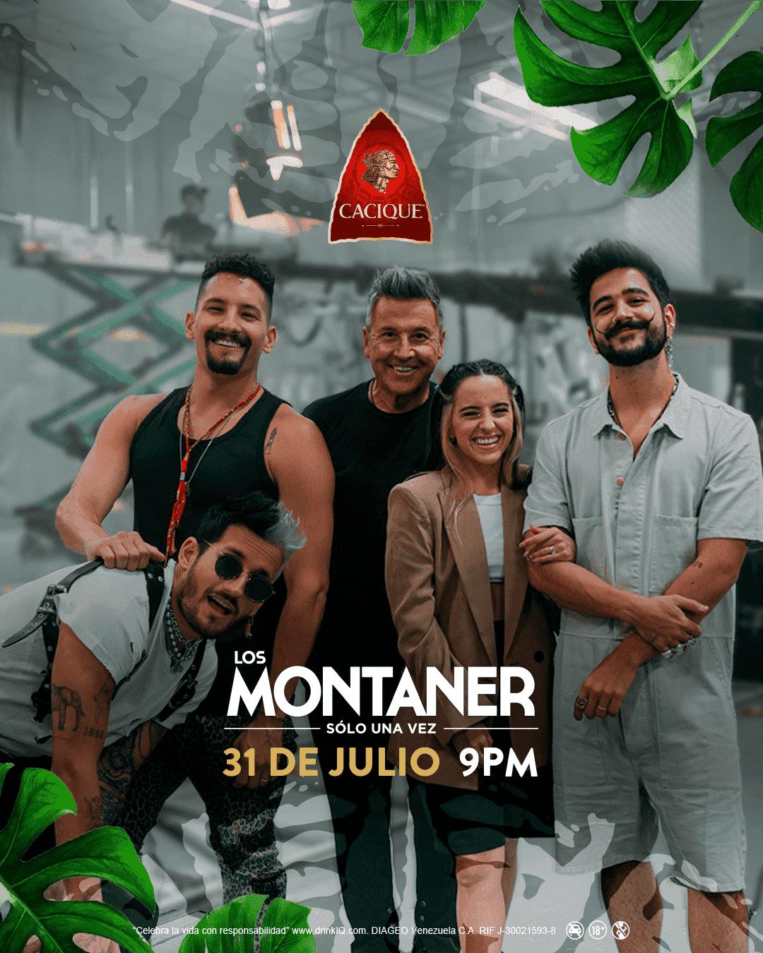 Ron Cacique te invita a disfrutar el concierto de  Los Montaner: Solo una vez