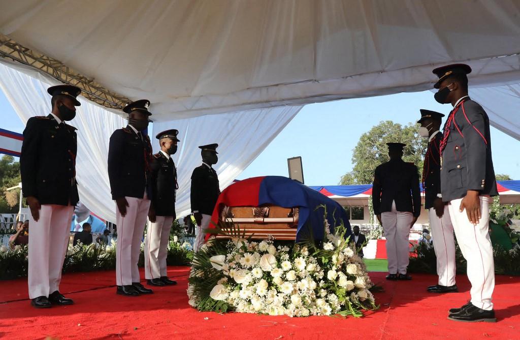 Inician los funerales del asesinado presidente de Haití, Jovenel Moïse