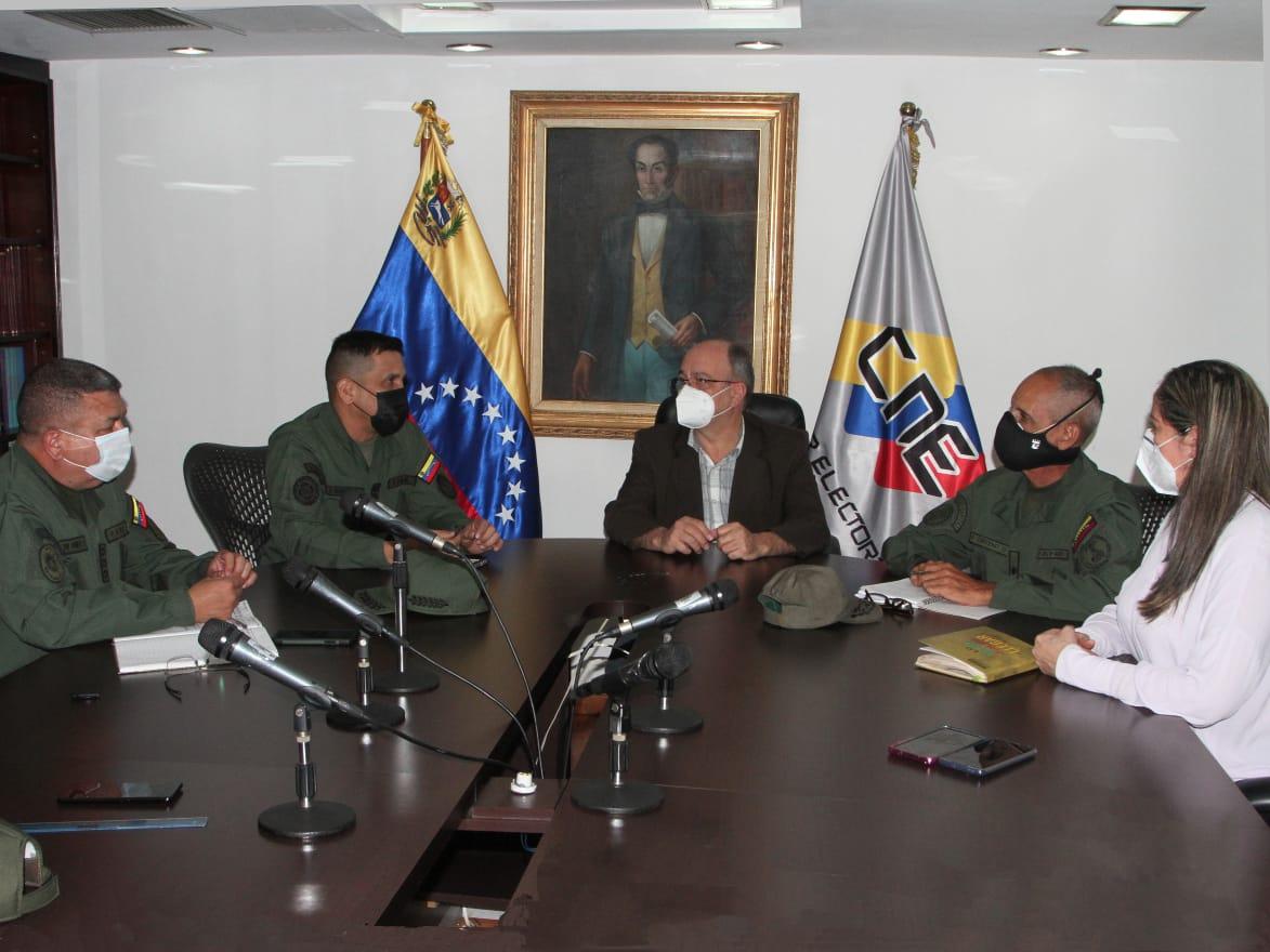 CNE y Ceofanb afinan detalles sobre seguridad de cara al 21-N
