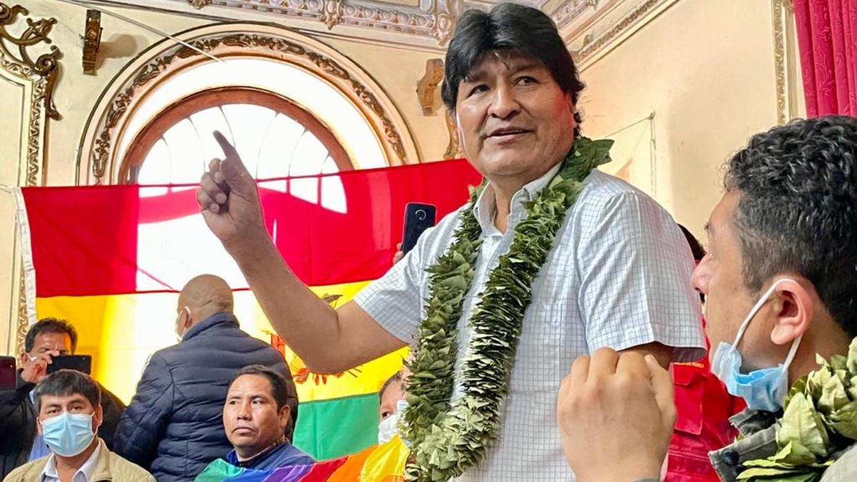 Evo Morales cuestiona política antidrogas de EEUU y plantea relanzar el