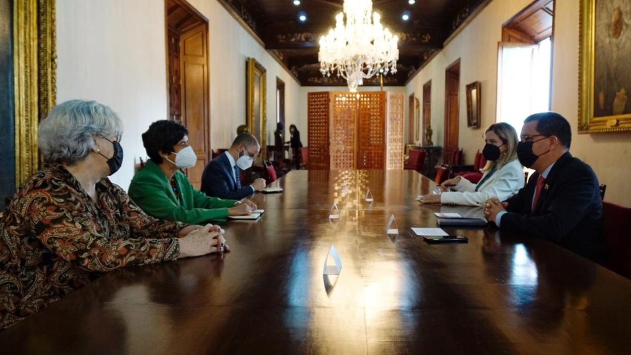 Venezuela y representantes de Programa Mundial de Alimentos evalúan cooperación conjunta