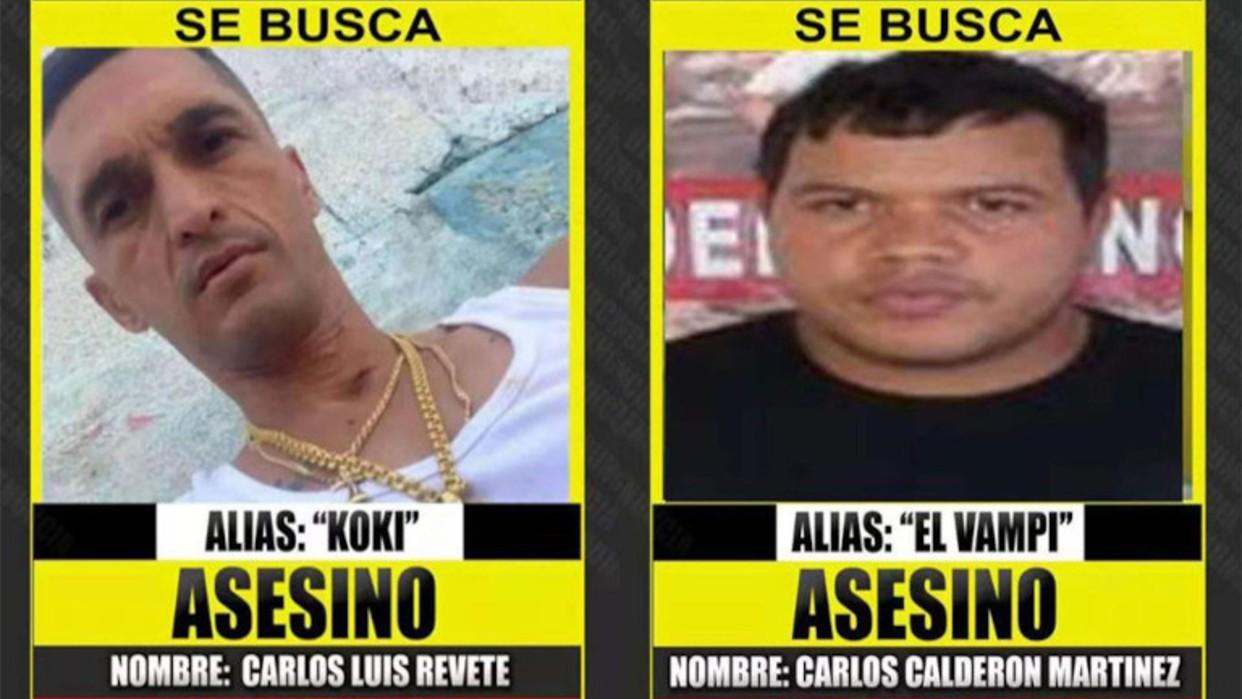 Policía de Colombia confirma la presencia del Vampi y el Koki en Cúcuta