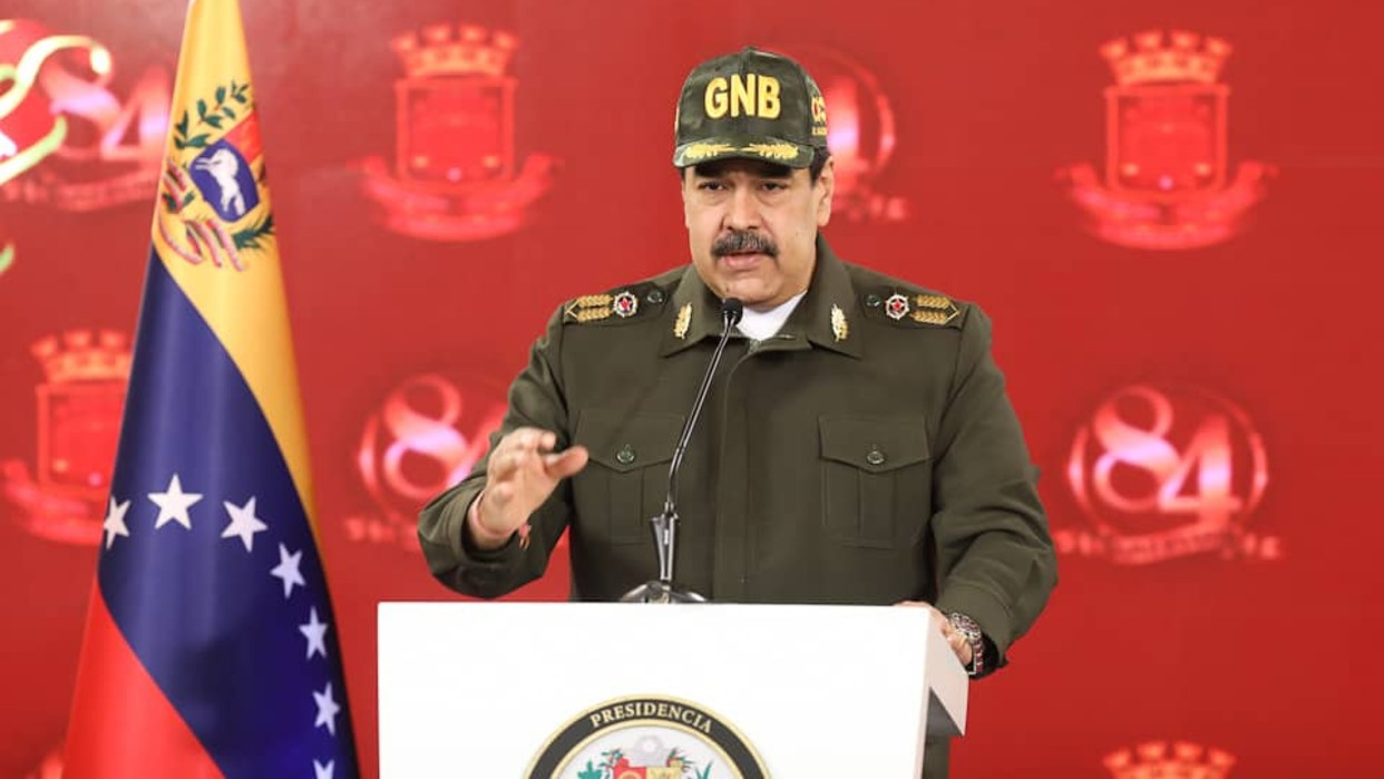 Presidente Maduro: La GNB ha cumplido a cabalidad su misión de garantizar la seguridad ciudadana