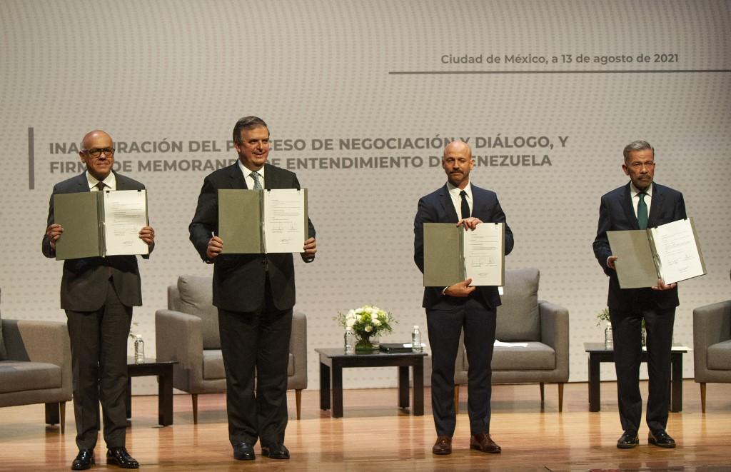 Gobierno de Venezuela y sectores de oposición iniciarán tercera ronda de diálogos en México
