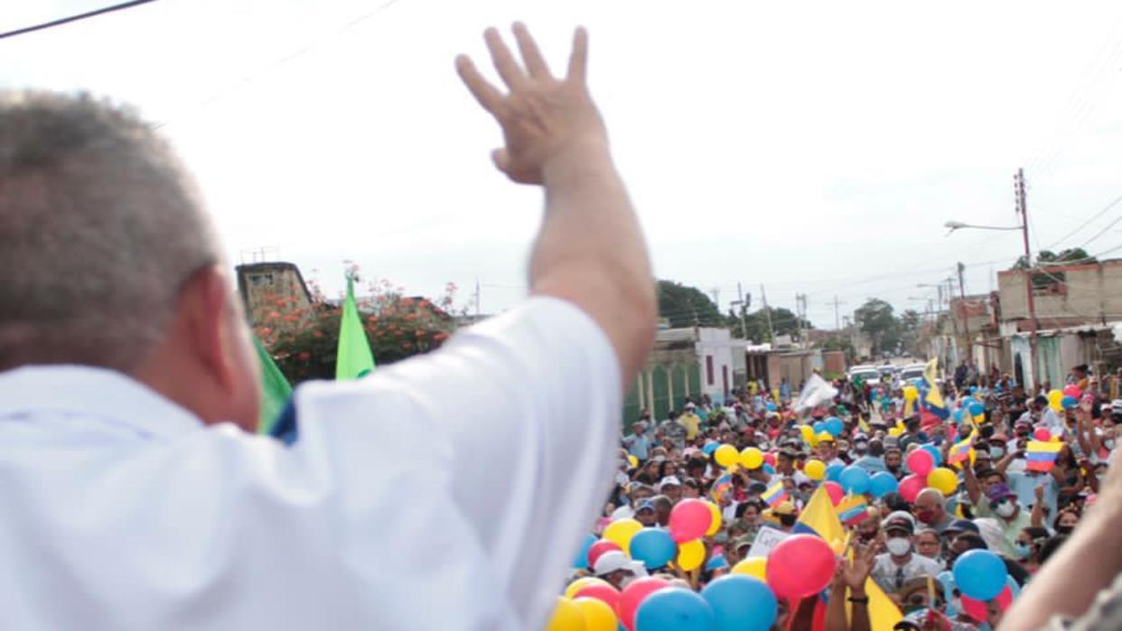 Luis Eduardo Martínez: Con votos cambiaremos a Venezuela