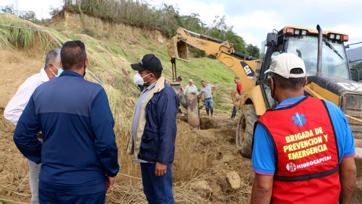 Ministro Marco Torres: Avanzan las labores para corregir la afectación parcial del sistema Tuy III