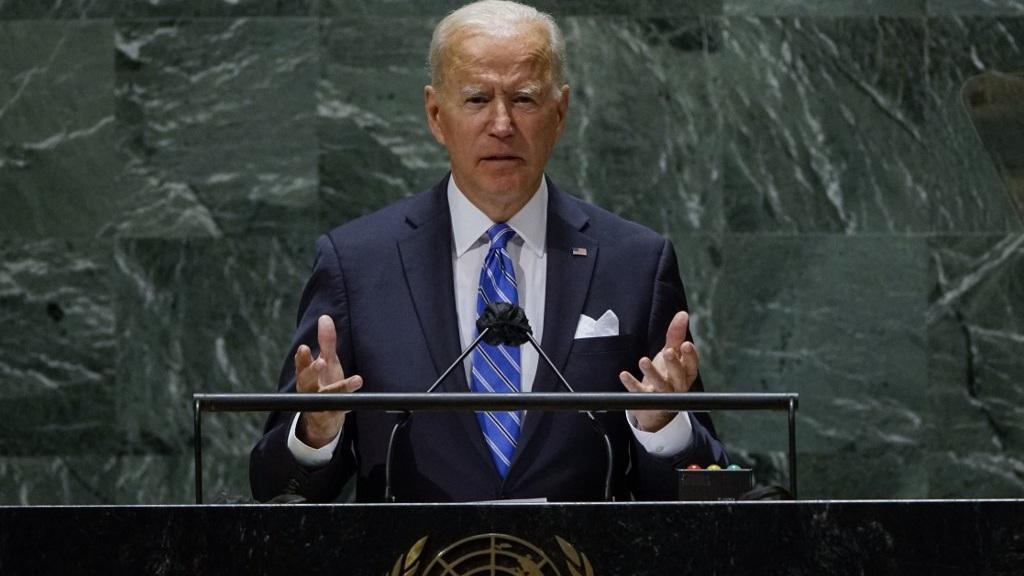 Biden dice que EEUU no busca
