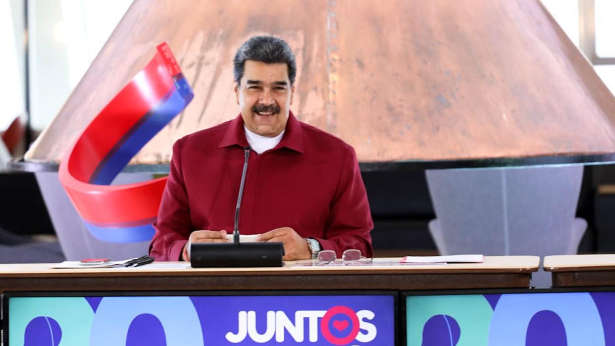 Presidente Maduro lideró el lanzamiento del comando de campaña