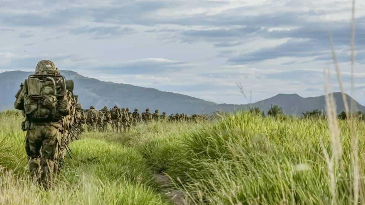 Tres soldados muertos al caer en un campo minado en Colombia