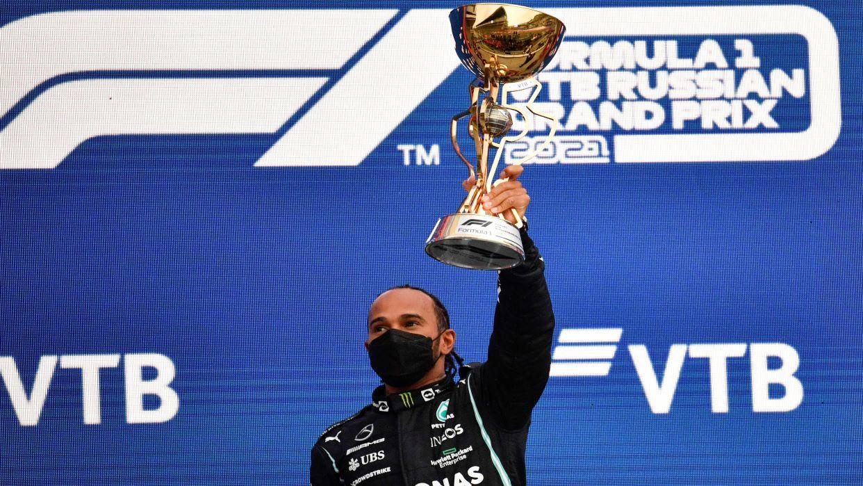 Lewis Hamilton llega a 100 victorias en Fórmula 1 en el Gran Premio de Rusia