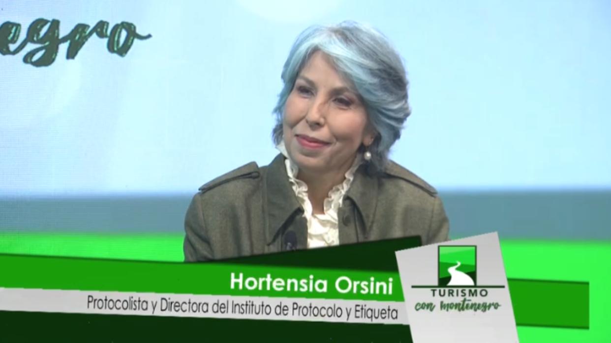 Álvaro Montenegro y Hortensia Orsini conversan este domingo sobre protocolo y etiqueta