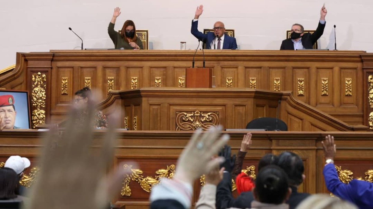 Asamblea Nacional conforma comisión mixta para trabajar en conjunto con el Congreso colombiano
