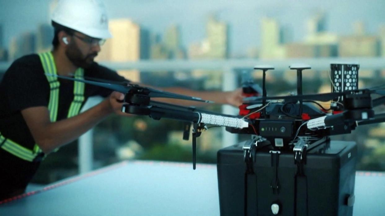Canadá utiliza drones para transportar órganos para trasplantes