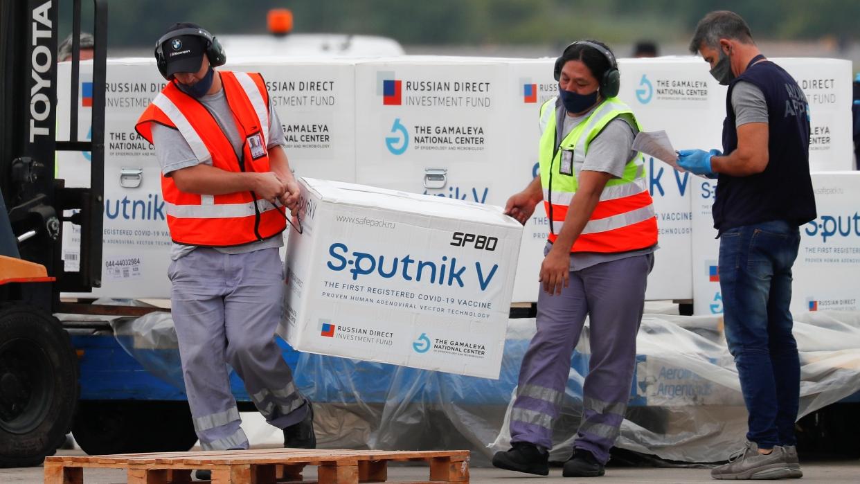 Rusia suministra a Venezuela más de 700.000 dosis de la vacuna Sputnik V