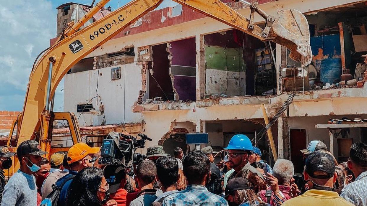 Zulia: Ordenaron cierre y demolición del retén de Cabimas