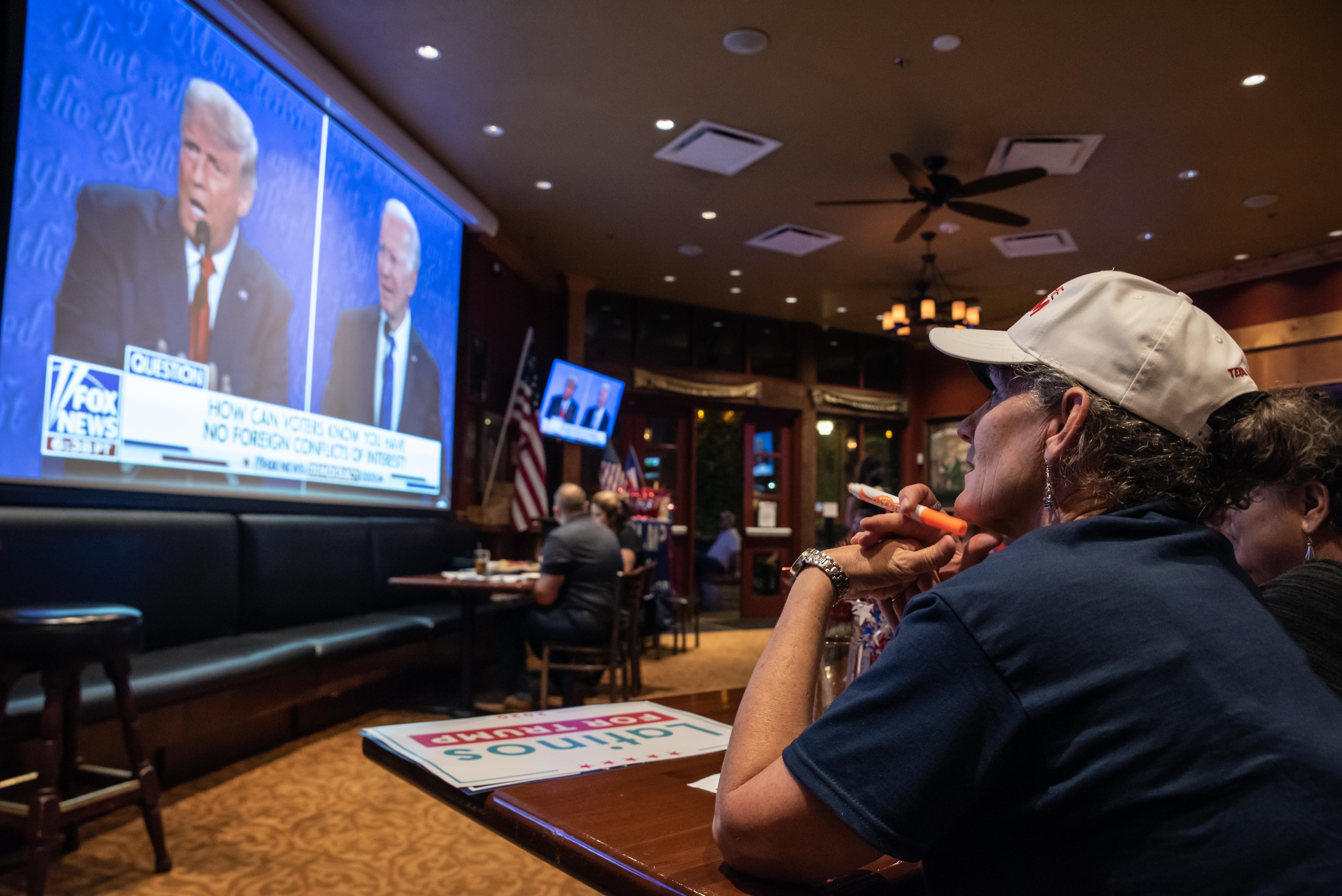 Trump y Biden vuelven a chocar por el Covid-19 en debate final