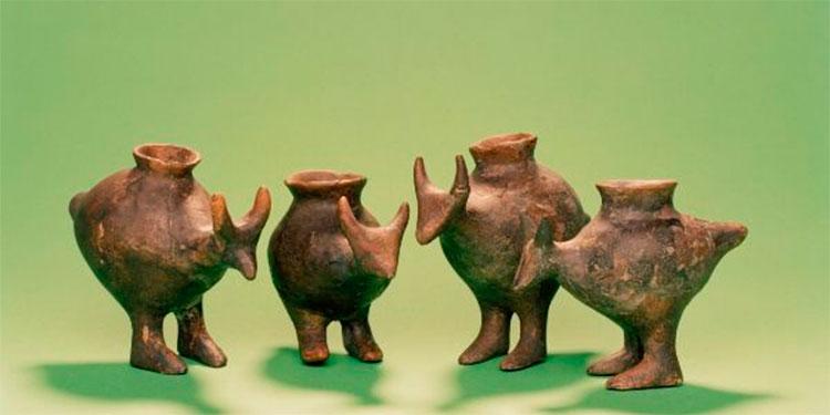 Los bebés prehistóricos bebían leche animal en biberones de arcilla
