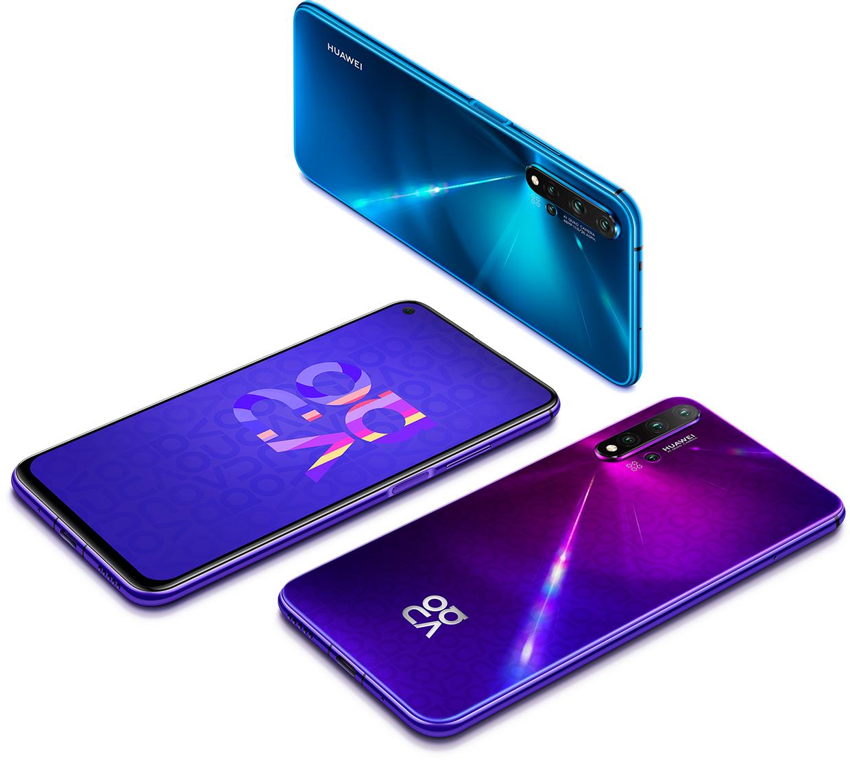 Huawei sacó el Nova 5T y posee APPS de Google