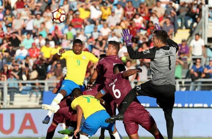 Vinotinto Sub-20 no pudo ante Brasil