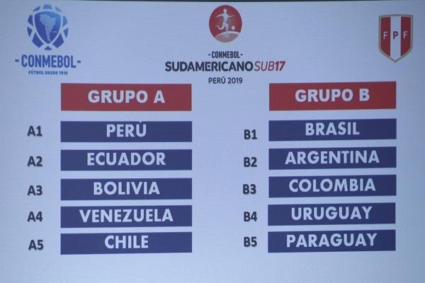 Venezuela en grupo A del sub-17